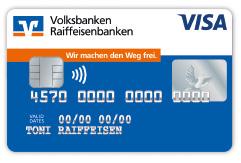 "Kreditkarten: Motiv ""Standard"""